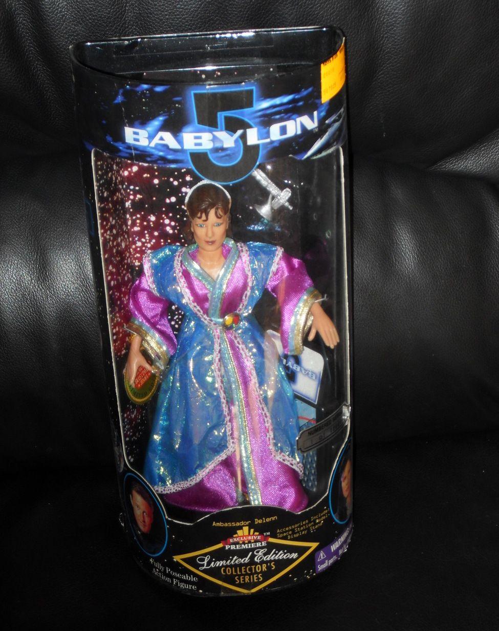 Babylon 5 Limited Edition Collector/'s Series Ambassador Delenn Action Figure NEW