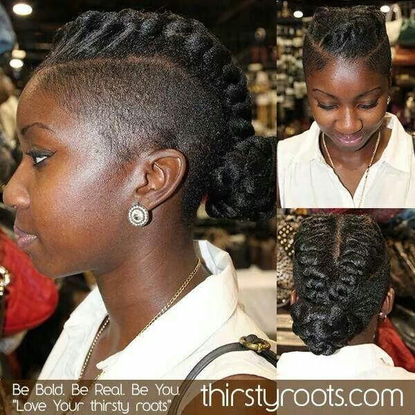 shaved sides hair styles