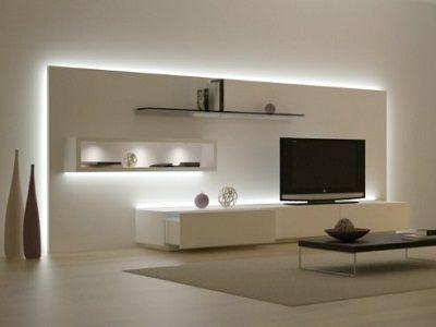 led-verlichting-woonkamer.jpg (400×300) | tv | Pinterest | Möbel und ...