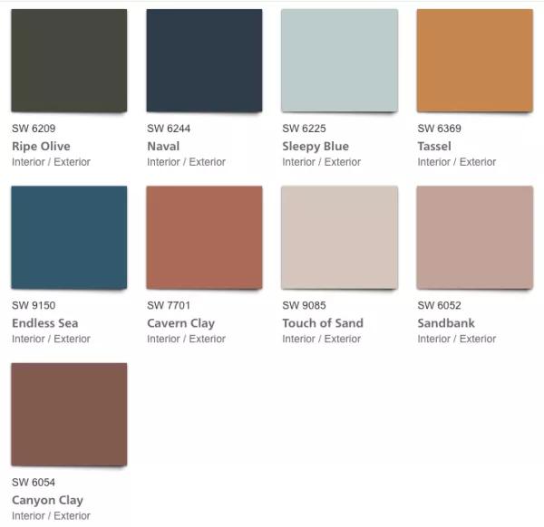 Sherwin Williams Alive Colormix 2020 Paint Color Forecast Interior Paint Colors Paint Trends Trending Paint Colors Color Forecasting