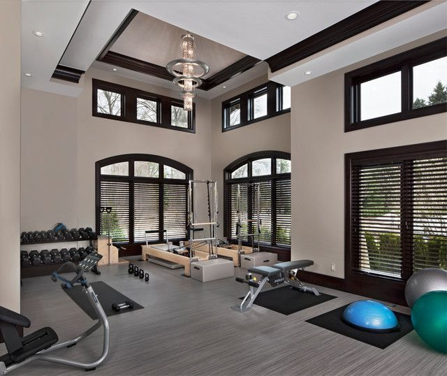 26 Luxury Home Gym Design Ideas for fitness Enthusiast | Pinterest