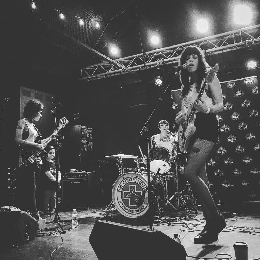 COATHANGERS playing record store day in Boston, MA