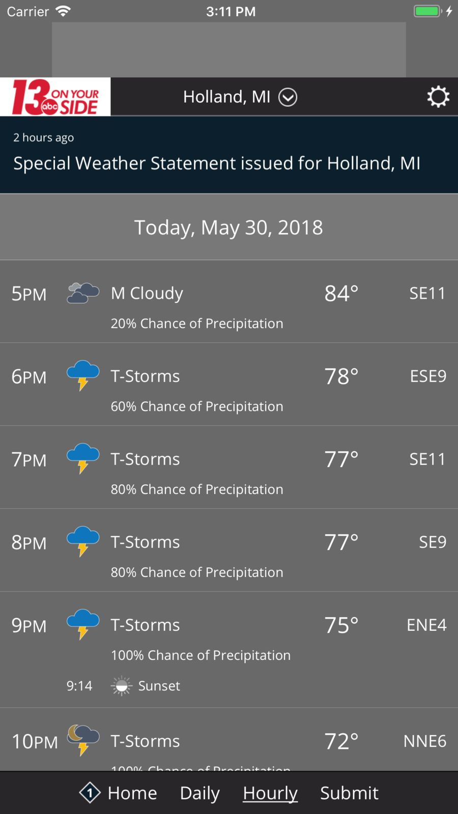 Max Defender 8 Weather App CorporationTelevisionios