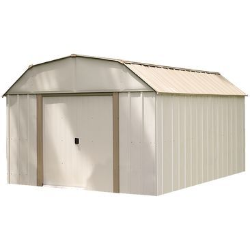 Arrow 10 Ft W x 14 Ft L Lexington DIY Metal Storage Shed Kit DIY