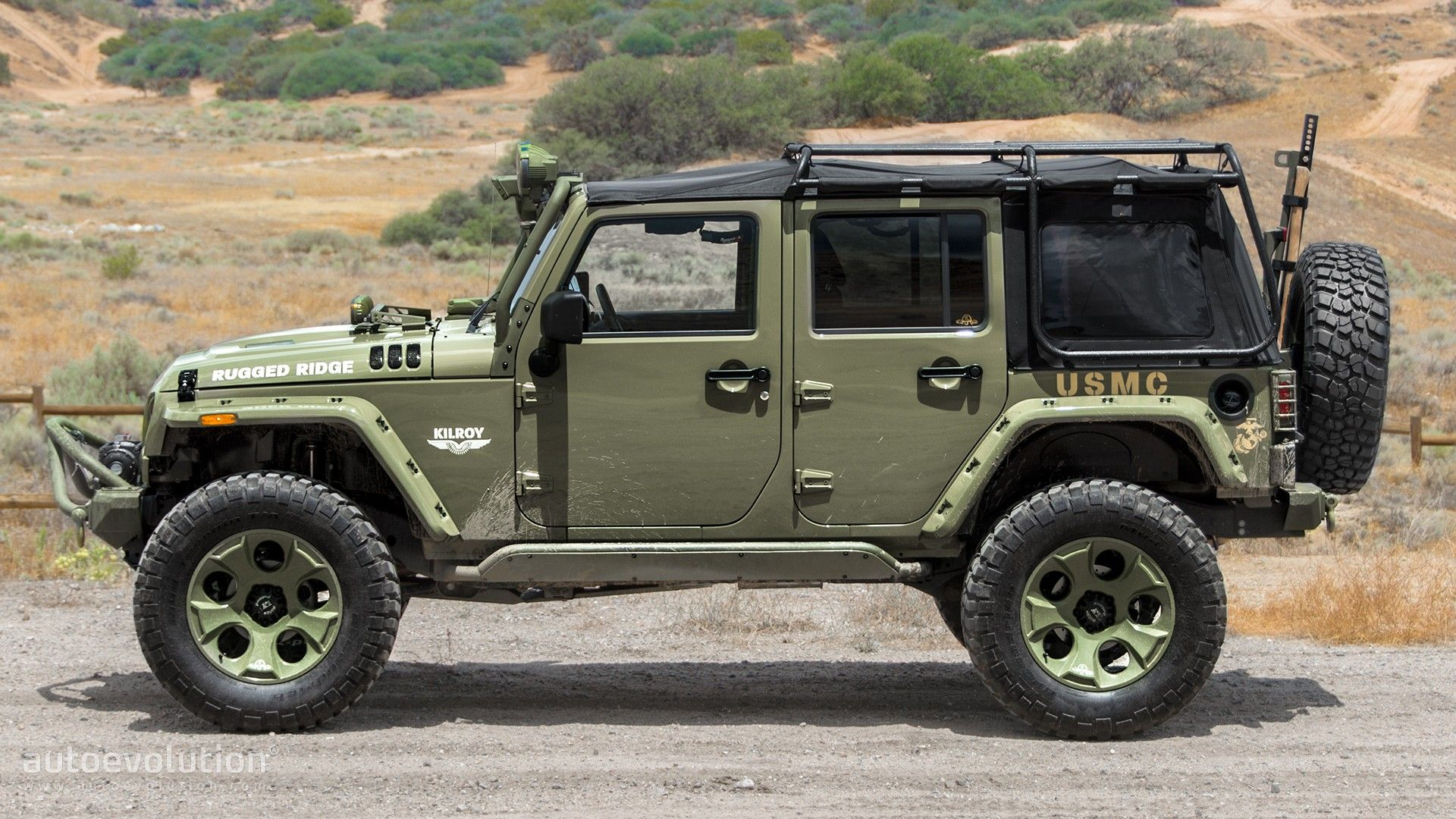 Exceptional 2014 Jeep Wrangler Rubicon By Rugged Ridge Review   Autoevolution
