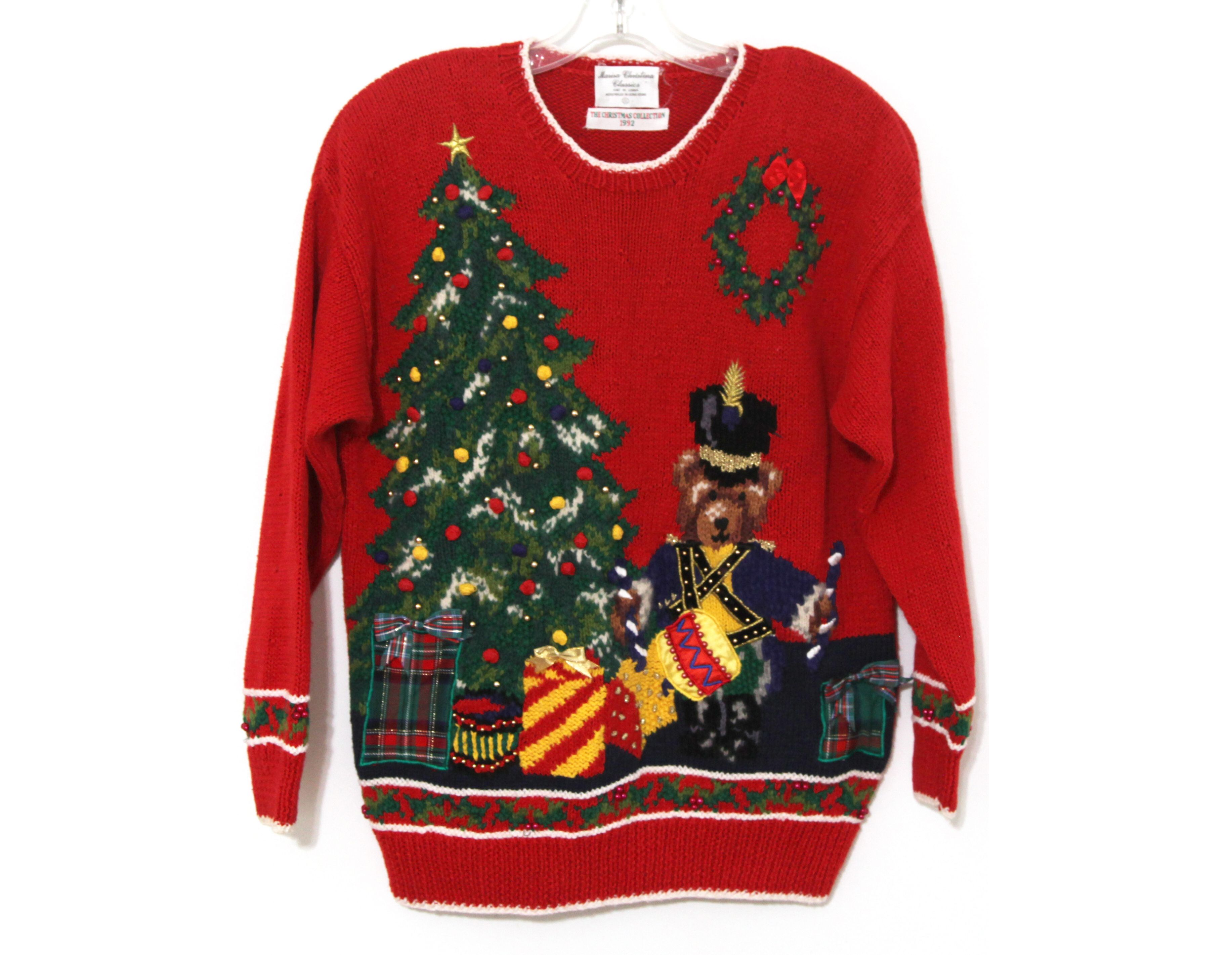 90s Christmas Sweaters.Pin On Vintage Christmas Sweaters