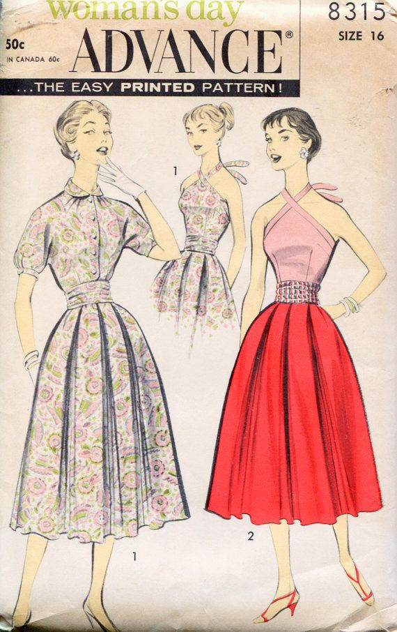 Pin On I Vintage Sewing Patterns Blouses Skirts