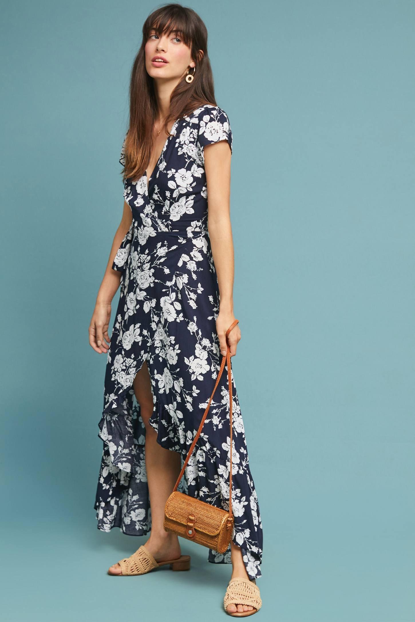 b8fce5bff2d8 Charlotte Maxi Wrap Dress | Fashion | Maxi wrap dress, Dresses, Boho ...