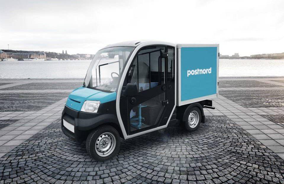 Electric Last Mile Delivery Vehicle Vehicles Cargo Van City