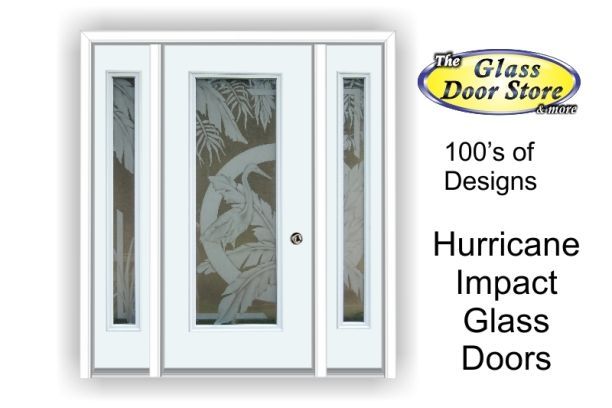 Hurricane Impact Glass Doors For Tampa Florida Hurricane Protection Glass Door Glass Doors Interior Fiberglass Door