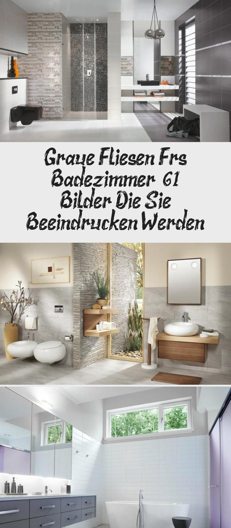 Graue Fliesen Furs Badezimmer 8211 61 Bilder Die Sie Beeindrucken Werden Graue Fliesen Zimmer Fliesen