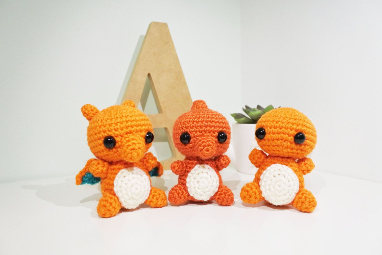Mini Pokemon Plush Amigurumi Keychain Set by BubblyTeaShop ... | 1000x1500