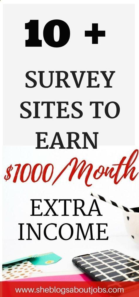 Paid Surveys | Online surveys for money | Make money online | Make money without a job