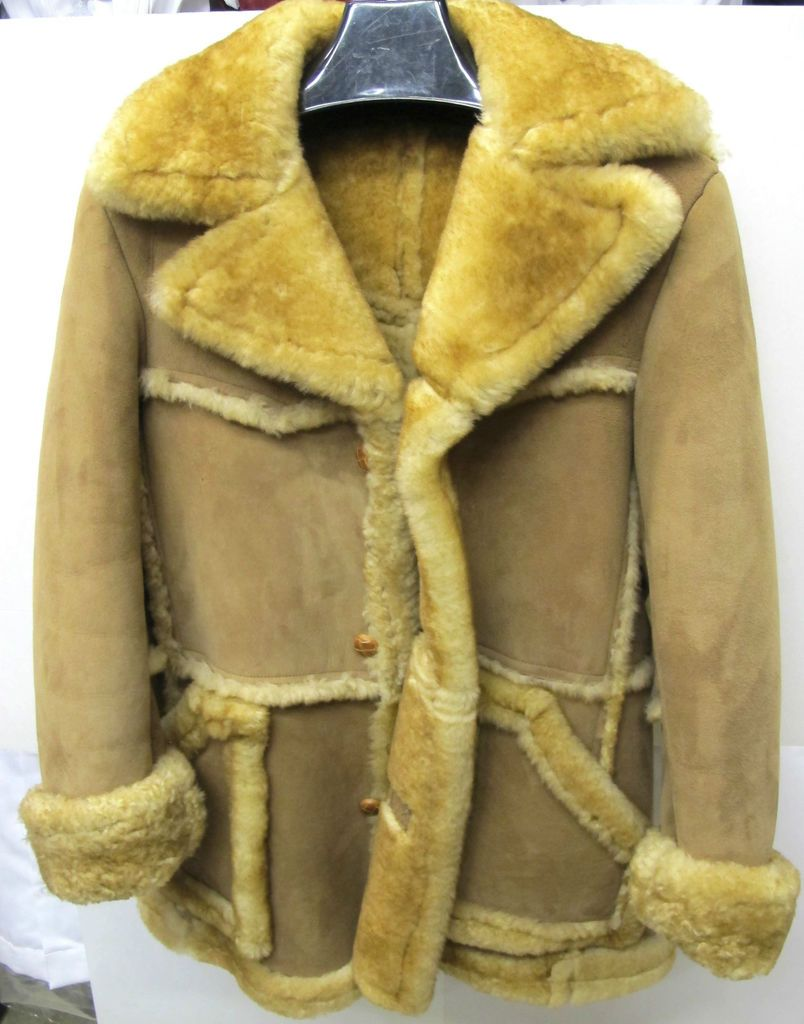 857463f85c52df marlboro shearling sheepskin fur coat jacket | Sheepskin in 2019 ...