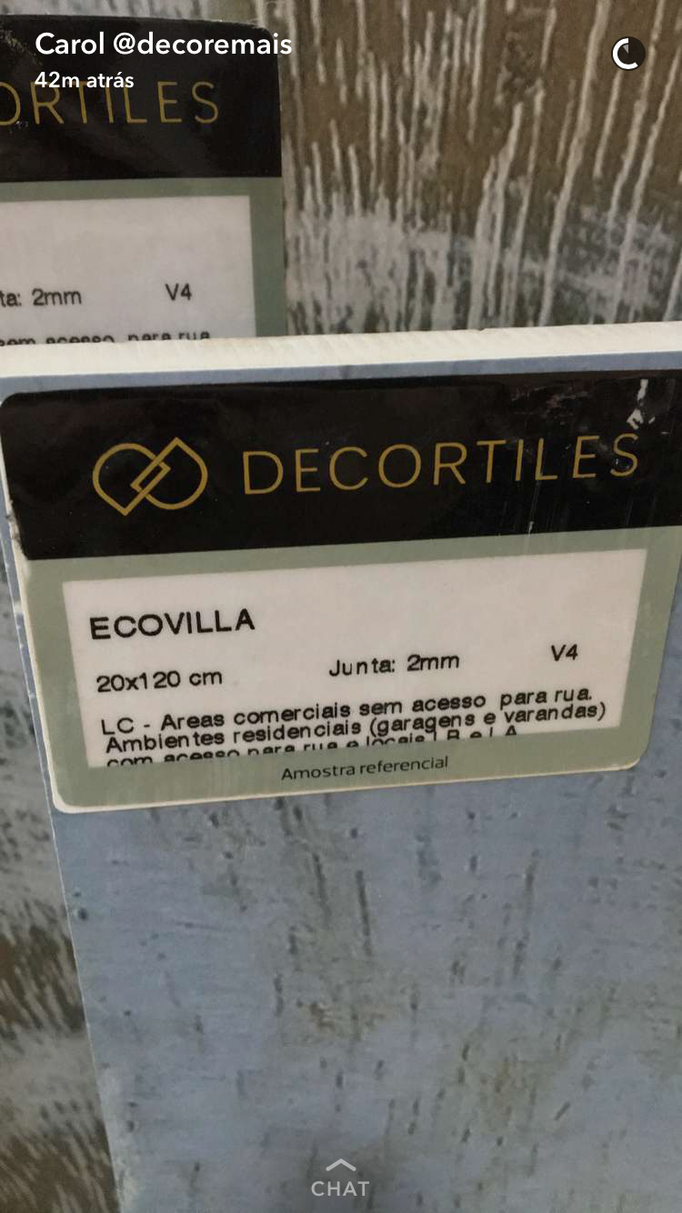 Decortiles Ecovilla 20x1,20 (Patina azul)