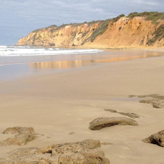 Private Beaches: Sunnymeade Beach Near Geelong, Australia. Our Own Private