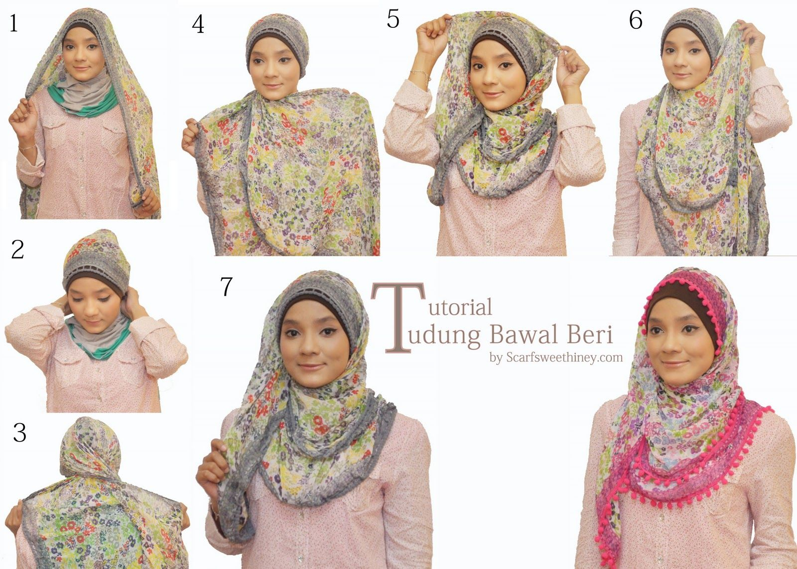 1000 Images About Hijaab Tutorial 3 On Pinterest