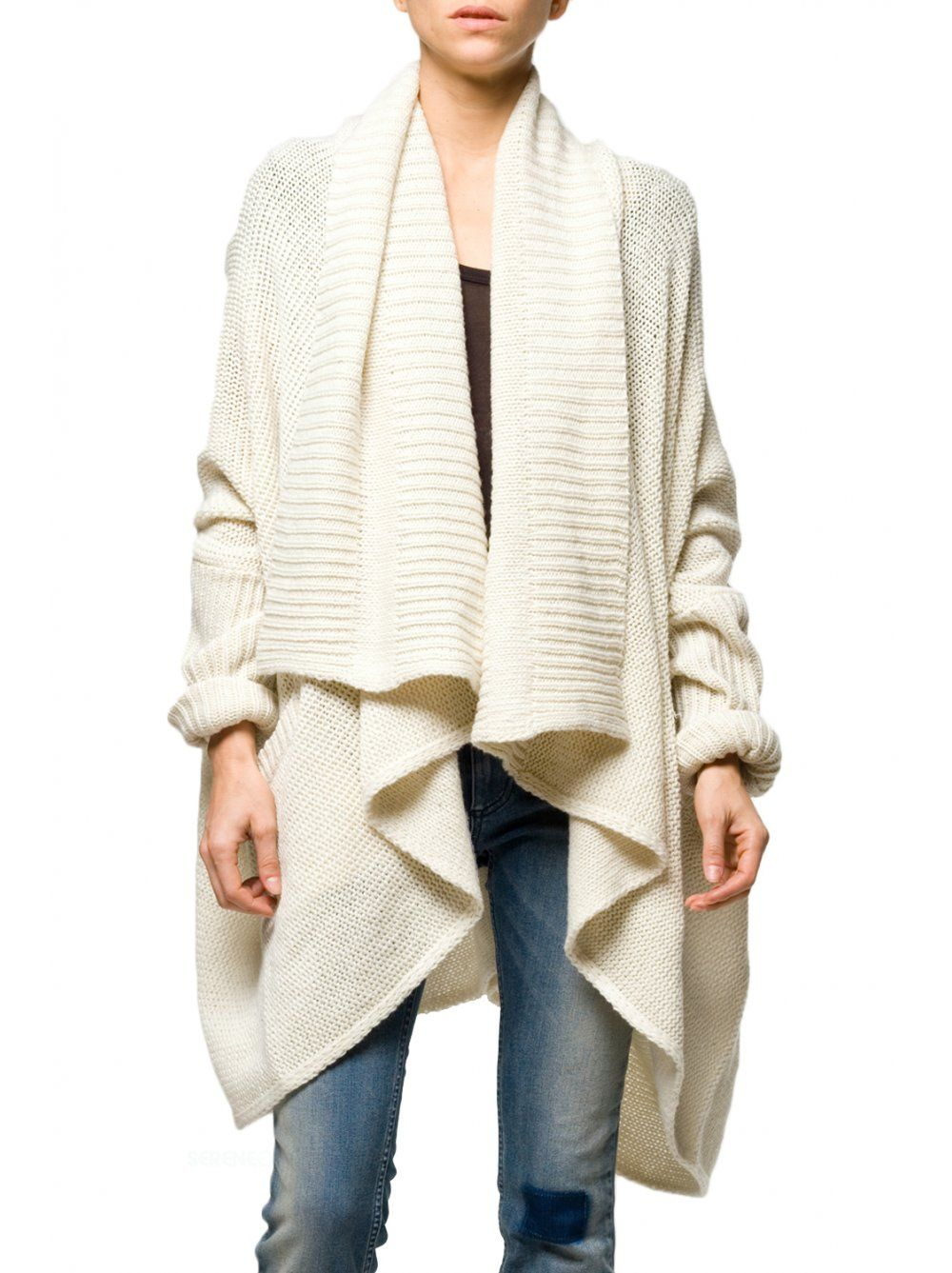 Religion Clothing Cardigan Dominique in Winter White