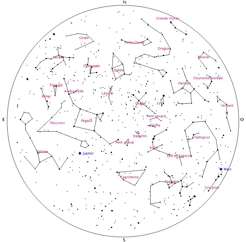 carte du ciel à imprimer carte des etoiles a imprimer gratuit   Recherche Google | Carte