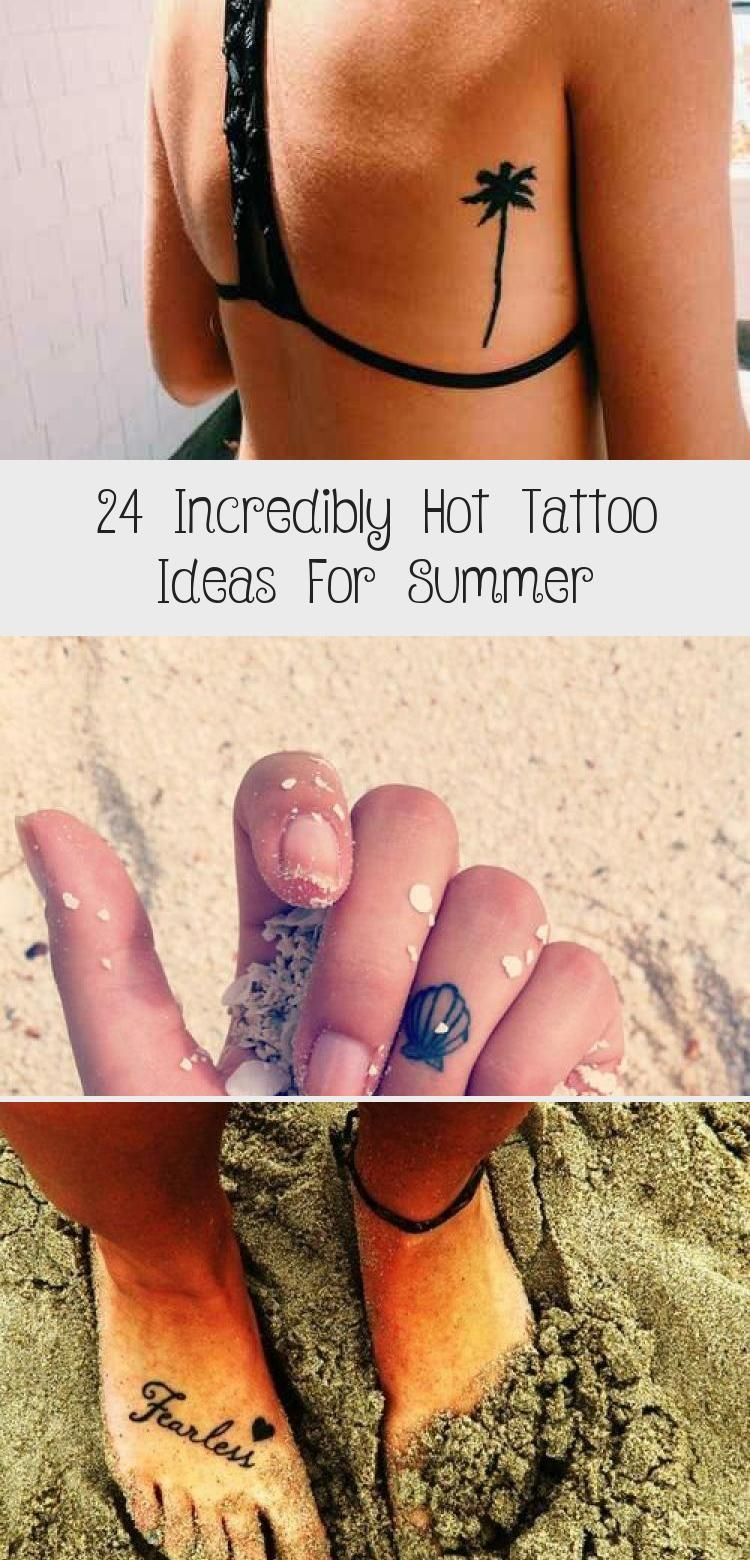 24 Incredibly Hot Tattoo Ideas For Summer – Tattoos and Body Art