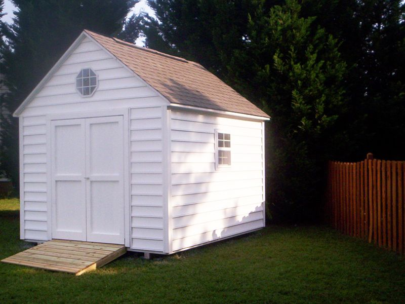 Custom Sheds In Raleigh Cary Holly Springs Vinyl Storage