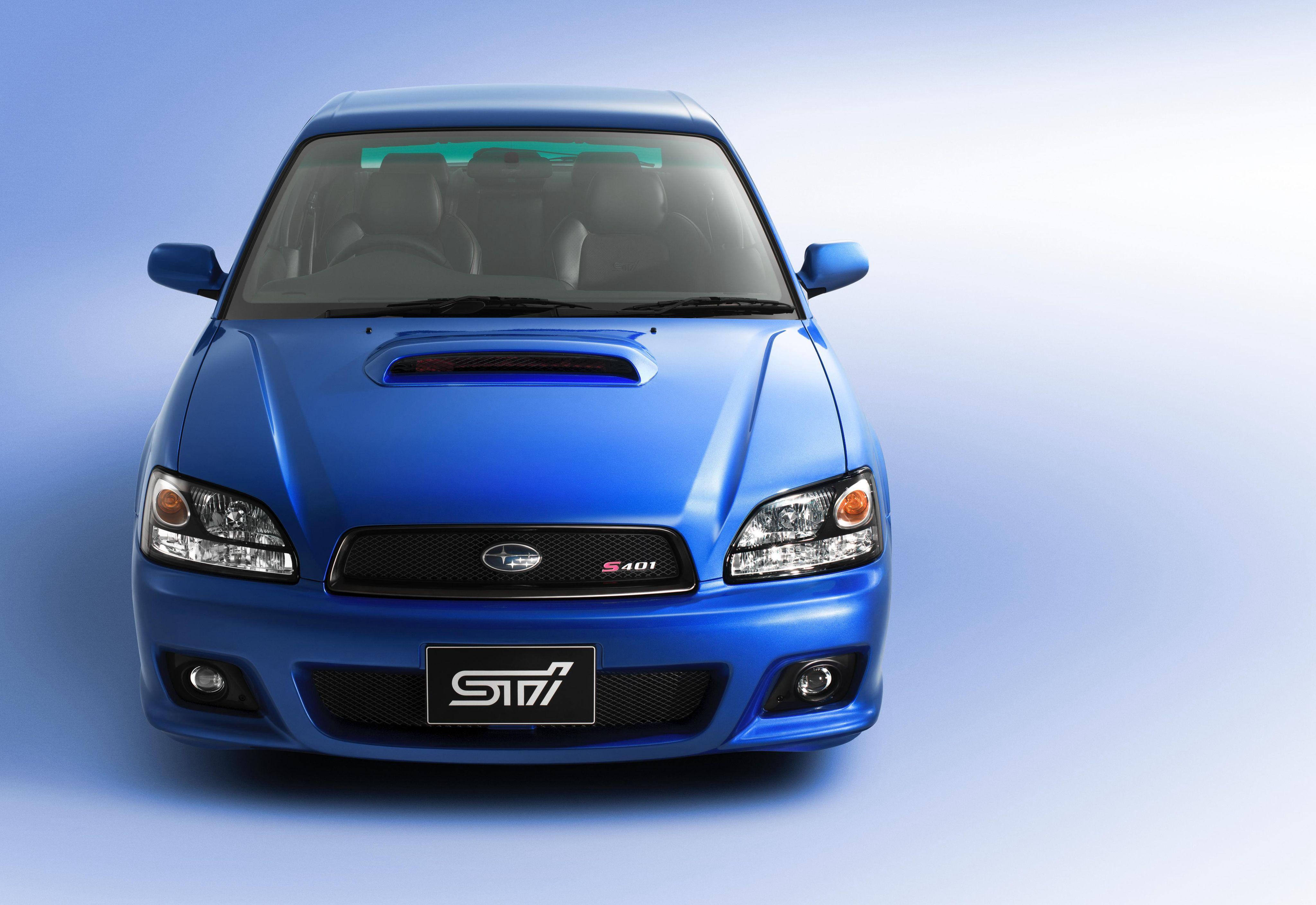Subaru Legacy Sti S401 Be Bh 2002 Subaru