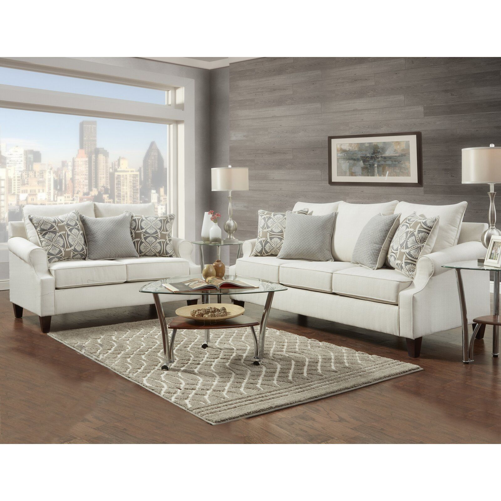 Best Red Barrel Studio Verdugo 2 Piece Living Room Set Cheap 400 x 300