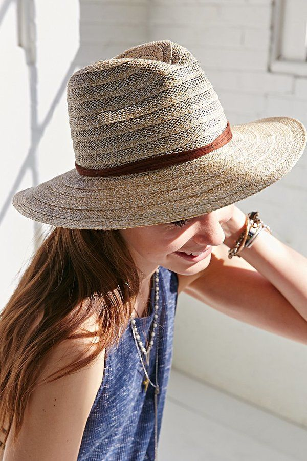 350f7afe5468c Mint By Goorin Bros. Open Weave Stitched Panama Hat