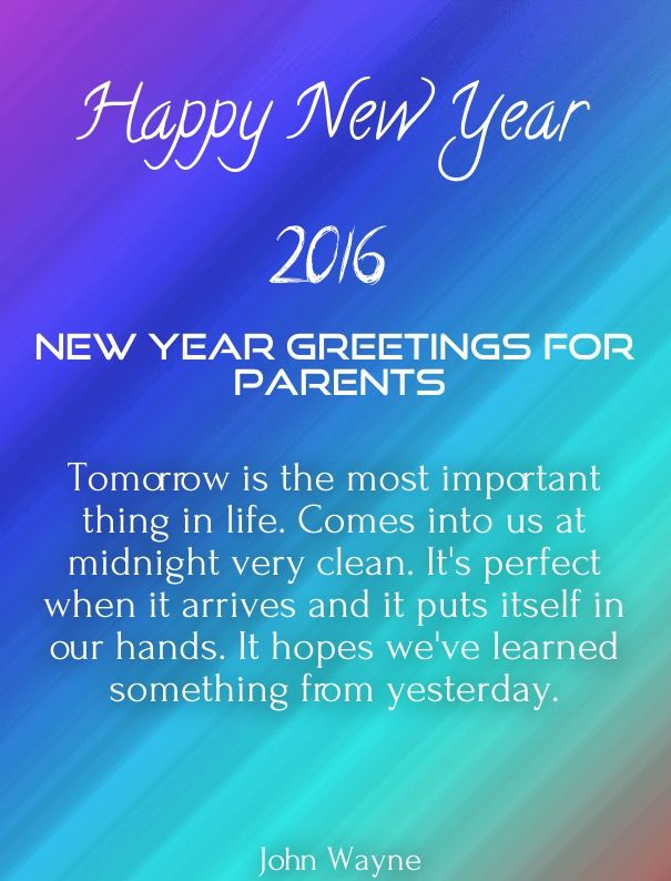 New year messages for parents 2016 happy new year 2018 wishes new year messages for parents 2016 m4hsunfo