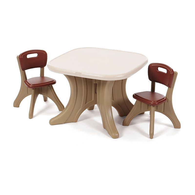 Fine Step2 New Traditions Table Chairs Set Products Table Gmtry Best Dining Table And Chair Ideas Images Gmtryco