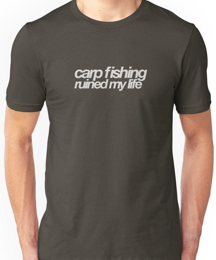 Carp Fishing Tee Shirt LIFE WITHOUT FISHING