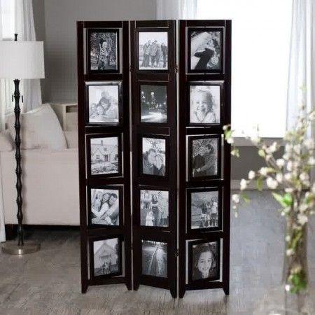 Floor Standing Picture Frames Tri Fold Room Divider Walls Room