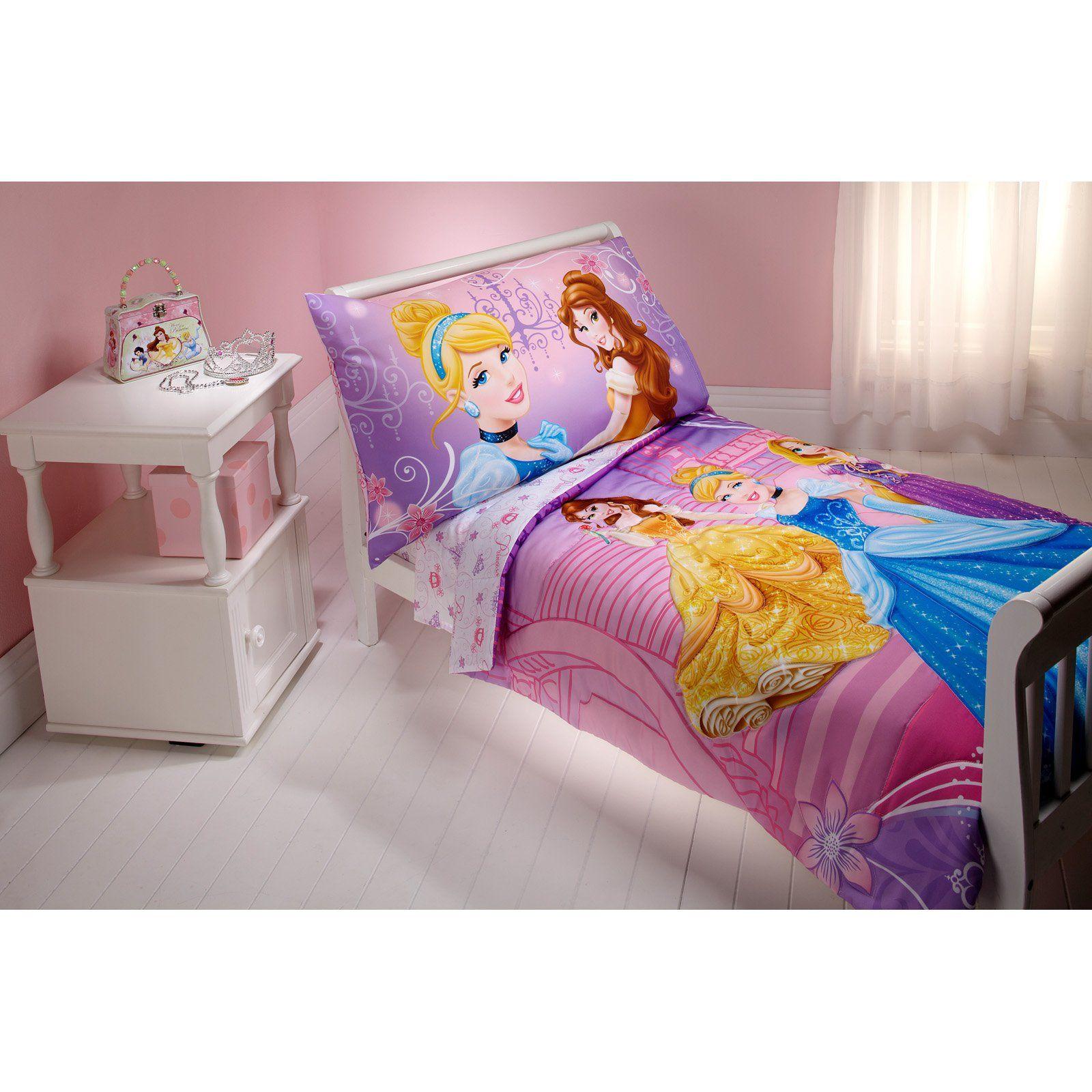 Disney Princess Dress To Shine 4 Piece Toddler Bedding Set In 2020