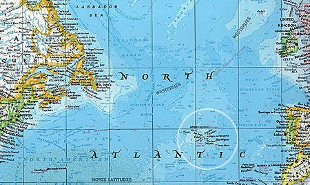 Location Of The Azores The Azores Portugal Pinterest Azores - Portugal map with azores