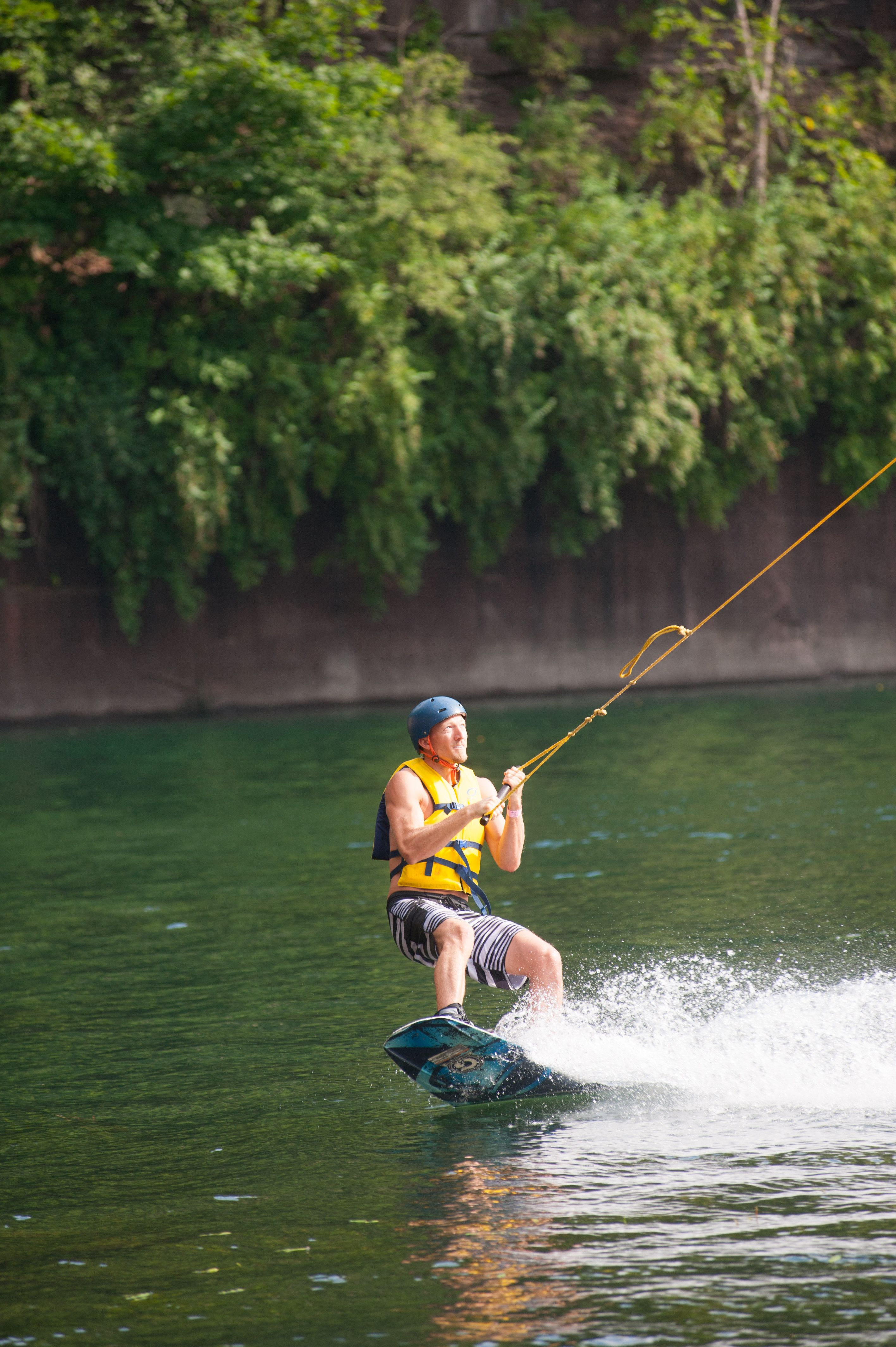 *Brownstone Discovery Park (Portland)*   Time to challenge yourself to some outdoor fun! On Open House Day (June 13) Brownstone is open from 10 a.m. until 6 p.m., offering 25% off Wakeboard entrance passes. [Photo credit: Kindra Clineff]