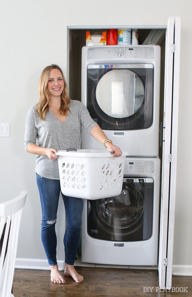 Check Out Our New Stackable Laundry Unit From Maytag Stackable