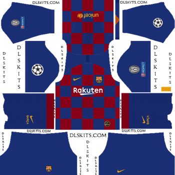 Dream League Soccer Kits Barcelona 2019 2020 In 2020 Soccer Kits Barcelona Soccer Barcelona Champions League