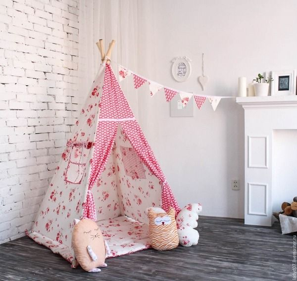 cool kids teepees design ideas kids playroom kids teepee tent DIY ideas & cool kids teepees design ideas kids playroom kids teepee tent DIY ...