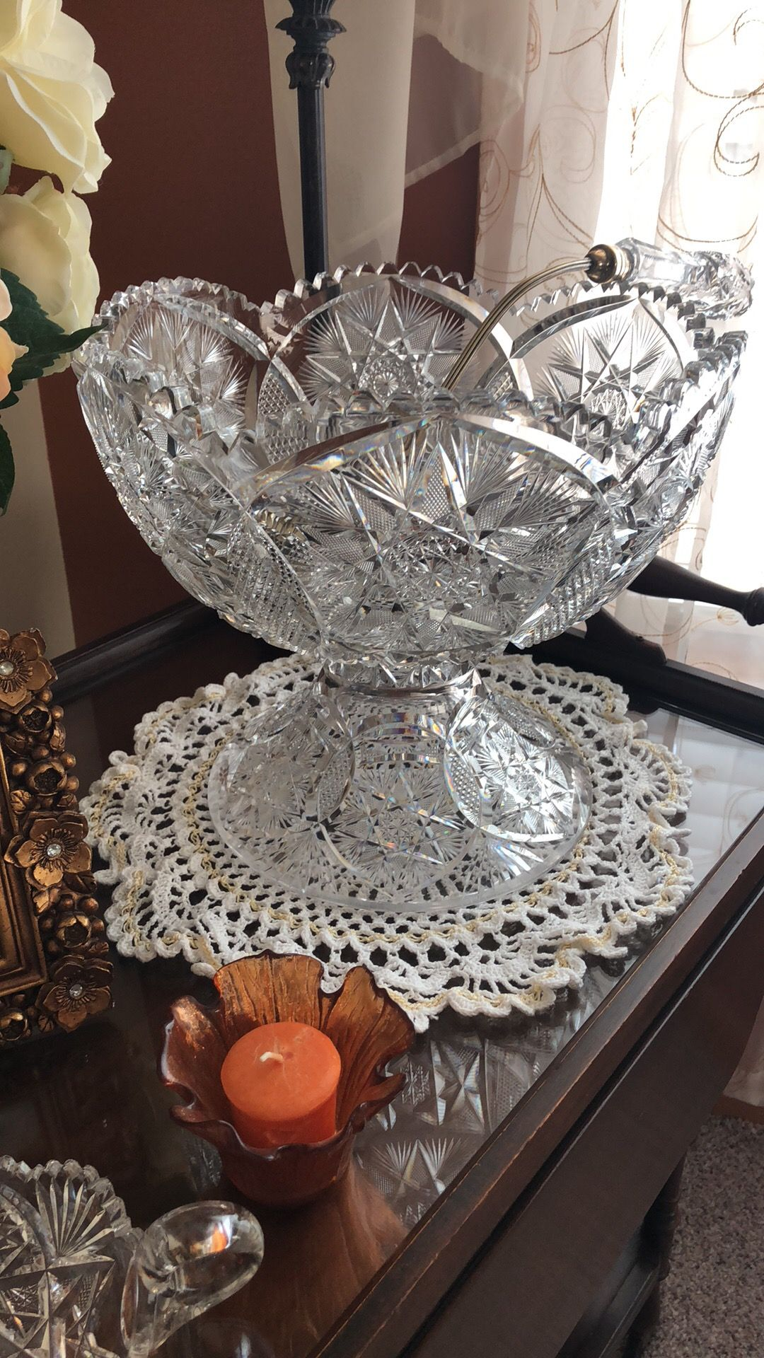 Pin On American Brilliant Cut Glass Amp Antiques What I