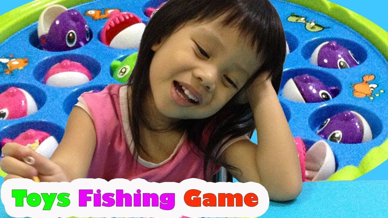 Surprise Mini Fishing Game TOY Reviews for Kids Count 1 to 20 https://goo.gl/xhmsKW