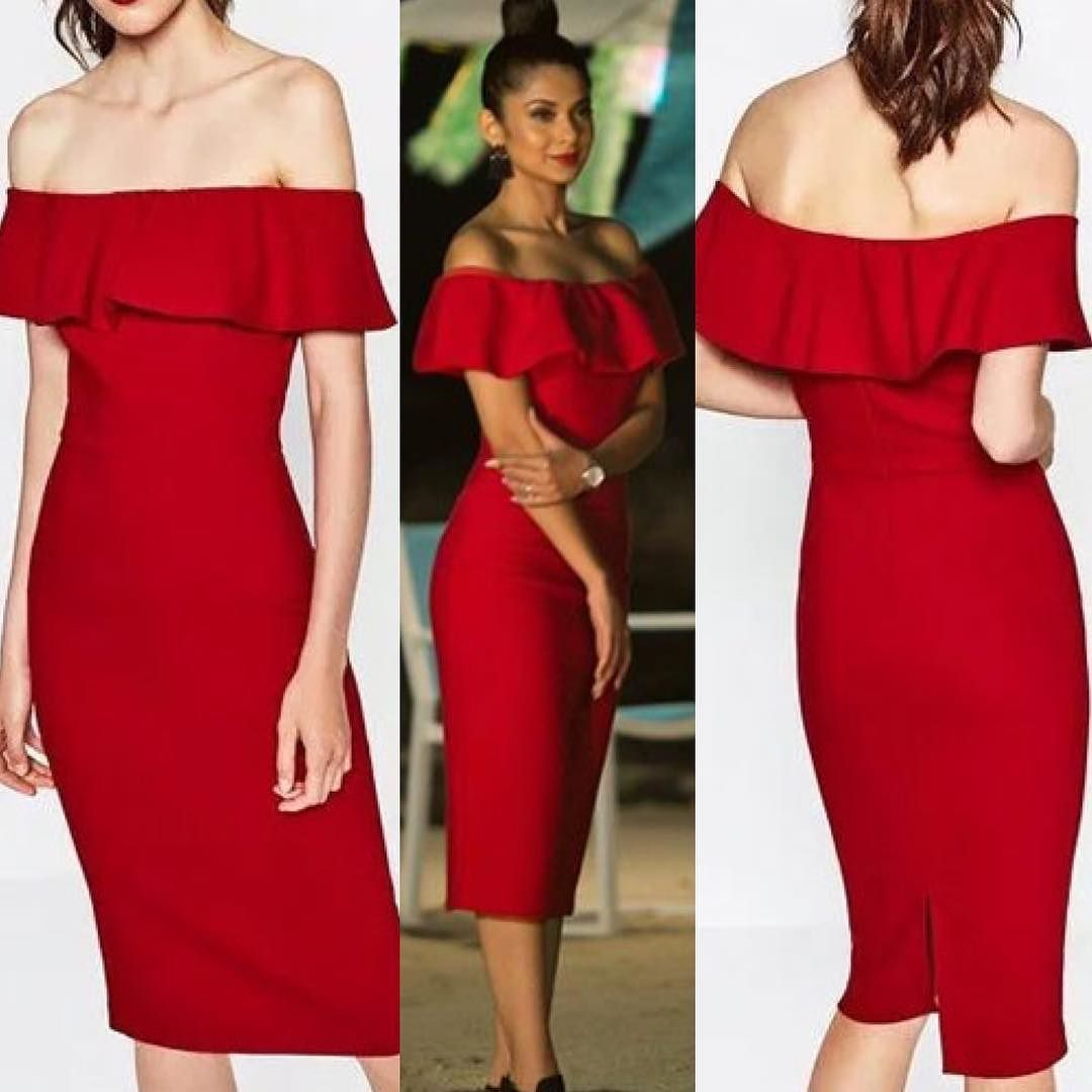 Be Your Own Label And Get Your Hands On Jennifer Winget Inspired Red Dress Available In Red And Black Color Stylish Short Dresses Jennifer Dress Maya Fashion