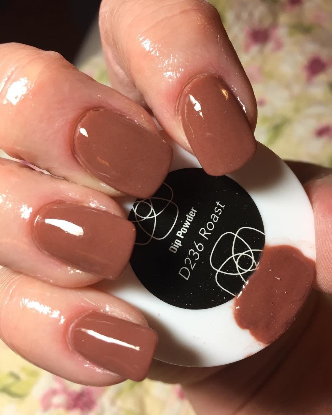 D236 Roast Revel Nail Dip Dip Powder Nails Nails