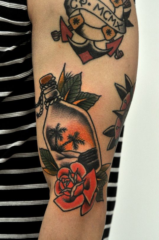 traditional tattoos tattoos pinterest tattoo ideen. Black Bedroom Furniture Sets. Home Design Ideas