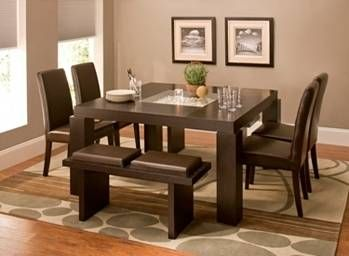 Cortland Place 7 Pc Dining Set Dining Sets Raymour And Flanigan Furniture Mattresses Dining Sets Modern