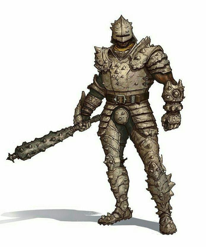 Mercenary Sergeant underdark fighter Dungeons /& Dragons miniature D/&D pathfinder