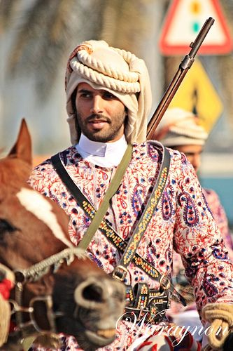 Horse rider in Morocco...Am hoping he will ride up looking for a job here at the farm...