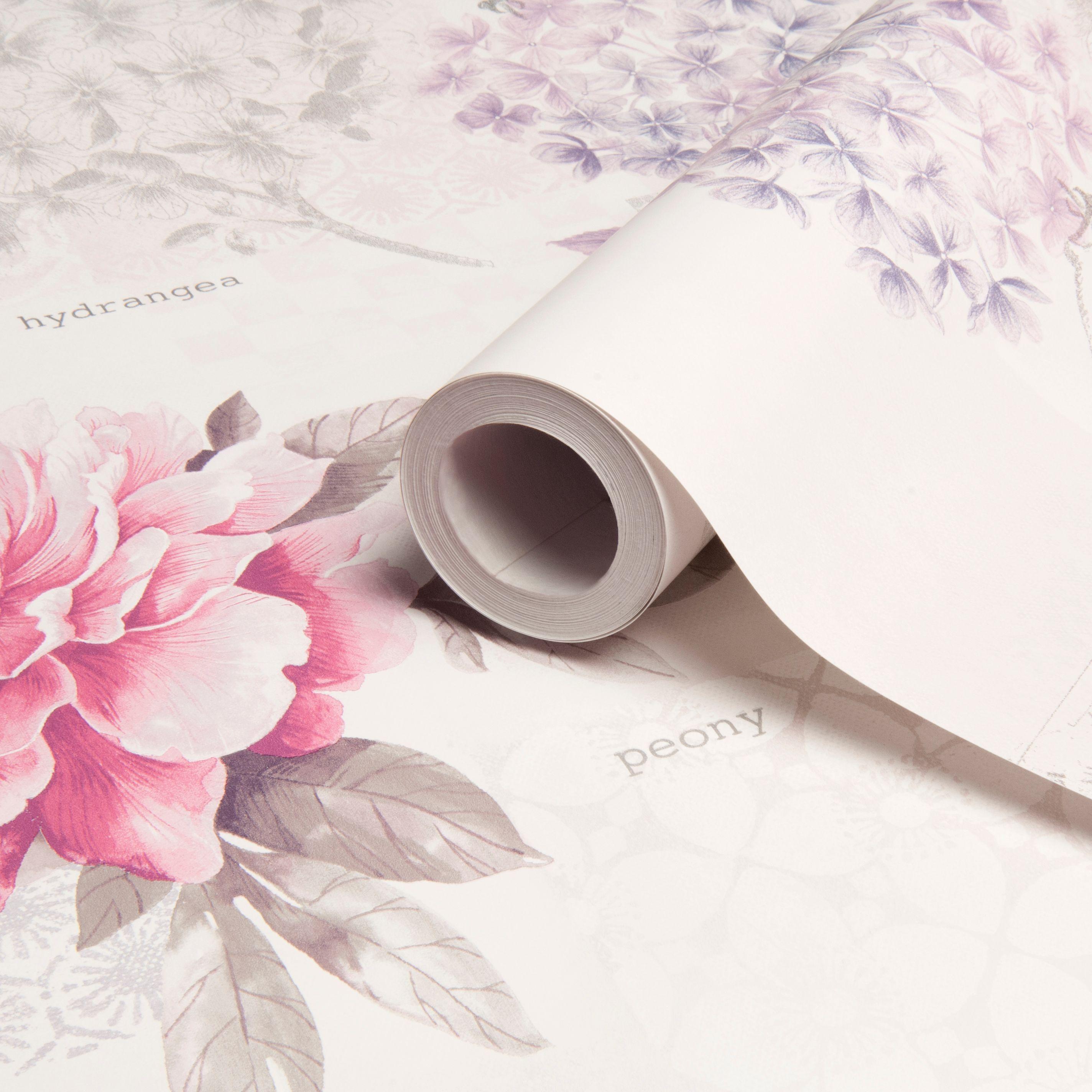 Daydream Floral Birds Wallpaper