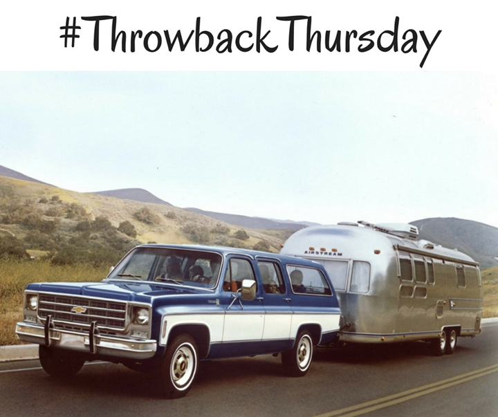 Tbt 1974 Chevrolet Suburban Recreational Vehicles Throwback