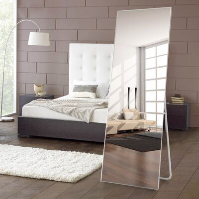 Wrought Studio Chevelle Aluminum Alloy Full Length Mirror Finish Contemporary Full Length Mirrors Full Length Mirror Decor