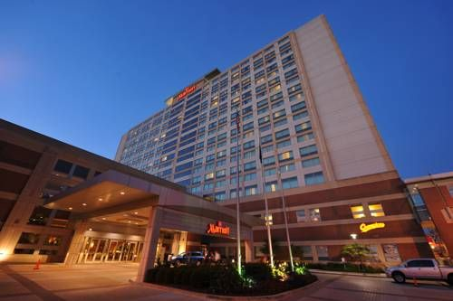 Indianapolis Marriott Downtown Indianapolis Indiana This Hotel